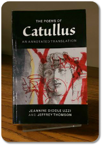 Poems of Catullus by Jeannine Diddle Uzzi