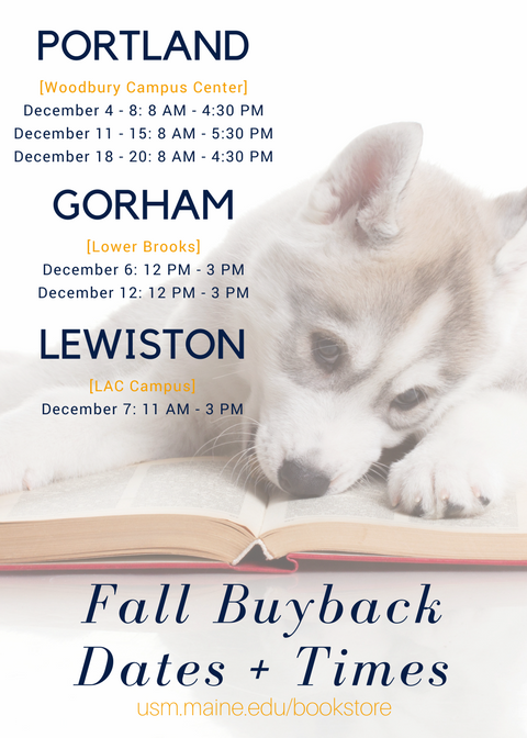 Fall Buyback Dates and Times