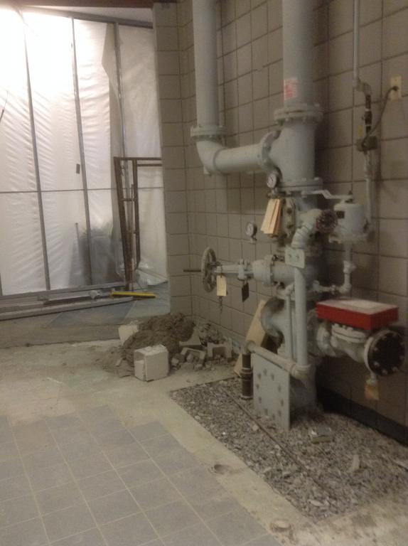 It Was Directly Outside The Old Front Doors And Beside The Old Storage  Closet That ...