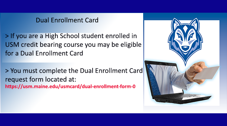Dual Enrollment Card