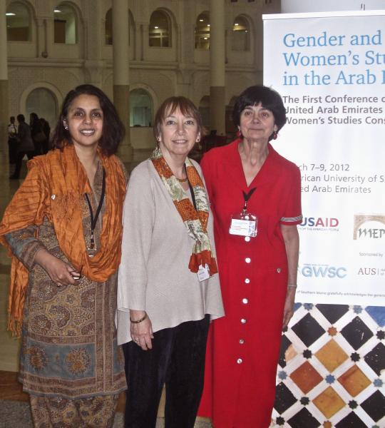 Deepika Marya, Susan Fineran and Christine Holden